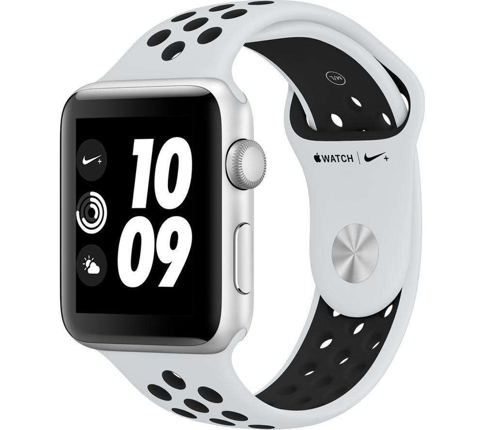 APPLE Watch Nike+ Series 3 - Silver, 42 mm - Lintronics Group LTD