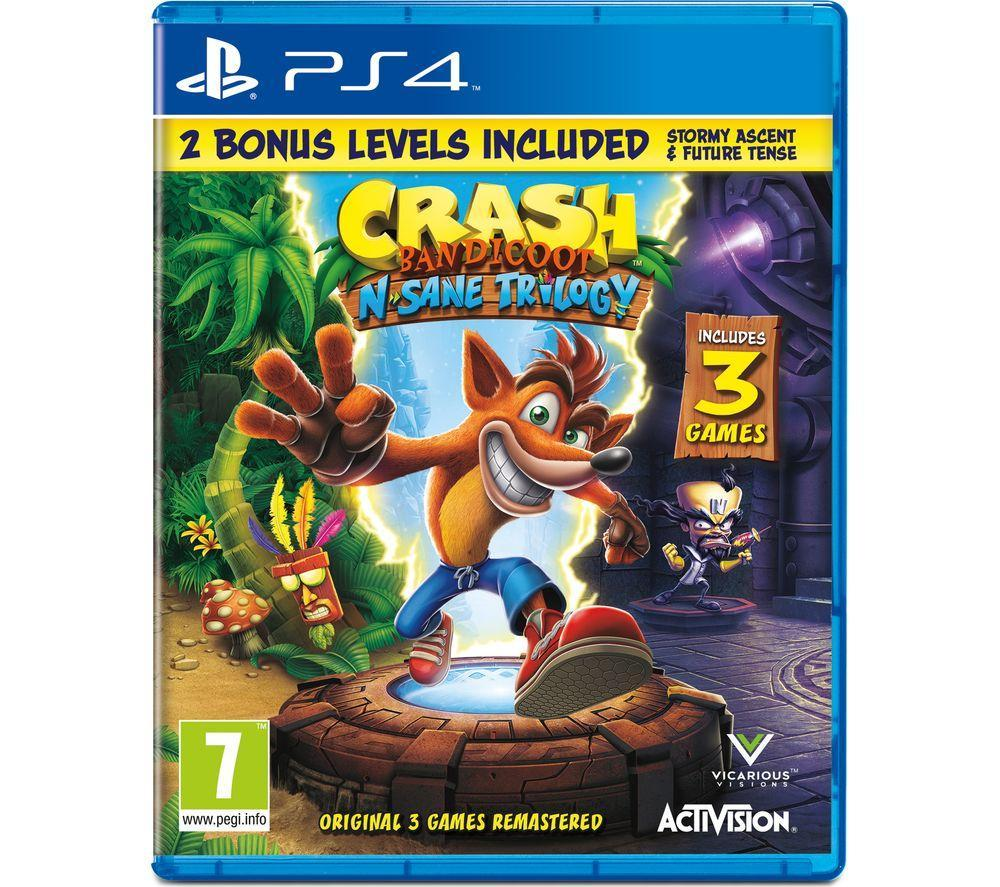 PS4 Crash Bandicoot N Sane Trilogy - Lintronics Group LTD
