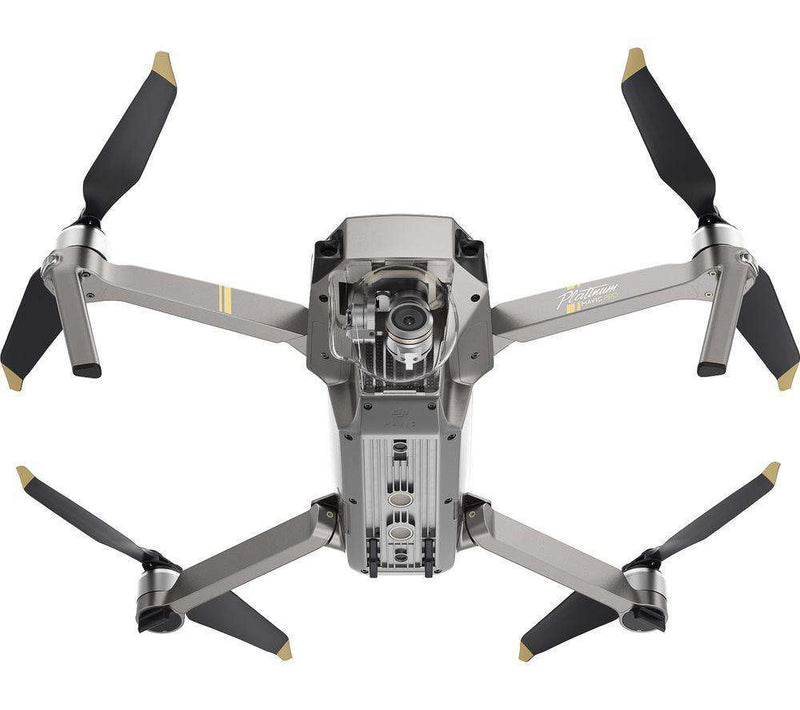 DJI Mavic Pro Platinum Drone with Controller - Silver - Lintronics Group LTD