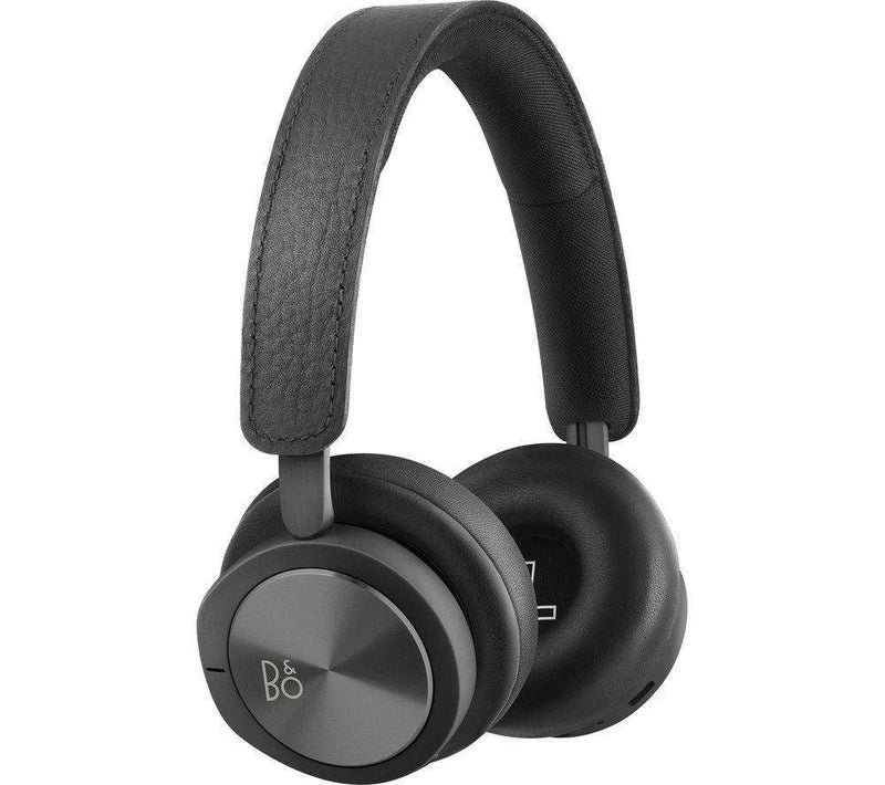B&O H8i Wireless Bluetooth Noise-Cancelling Headphones - Black - Lintronics Group LTD