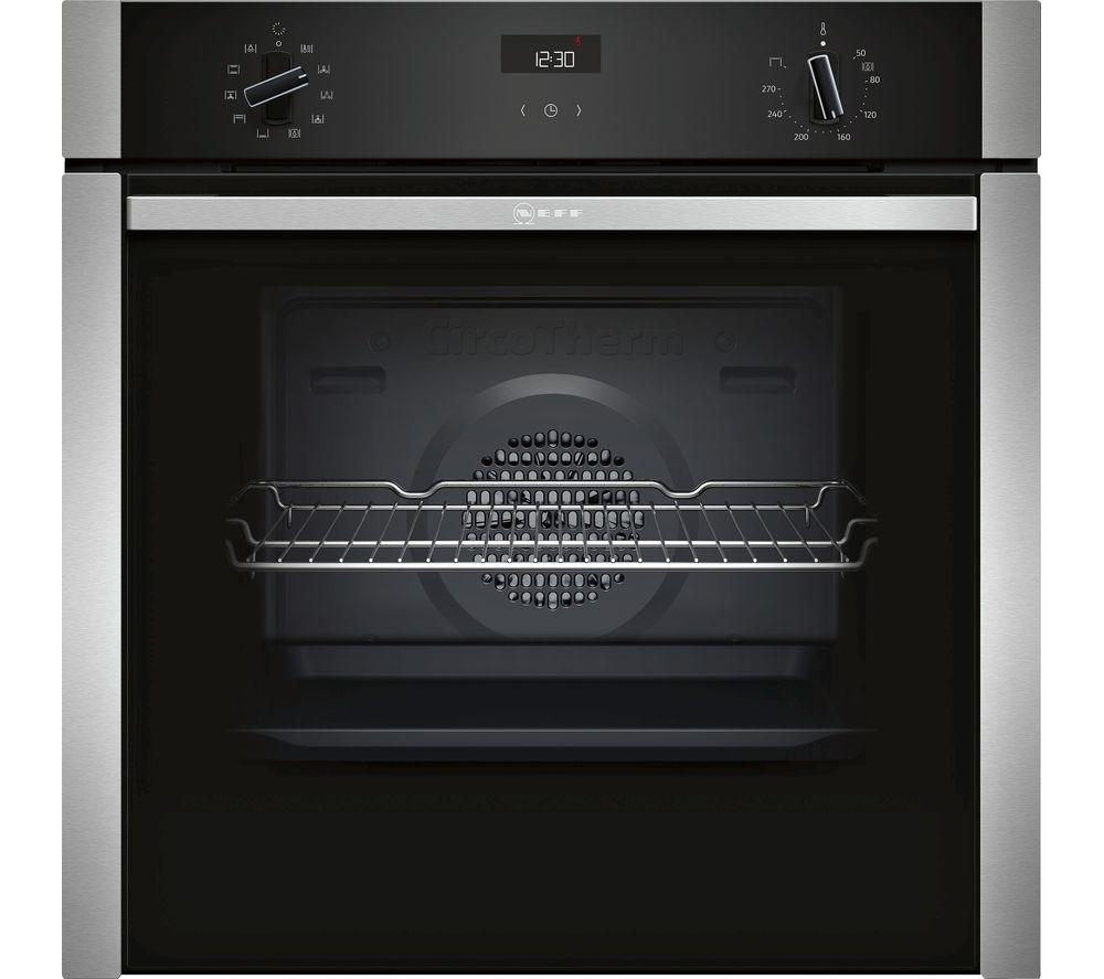 NEFF B3ACE4HN0B Slide&Hide Electric Oven - Stainless Steel - Lintronics Group LTD