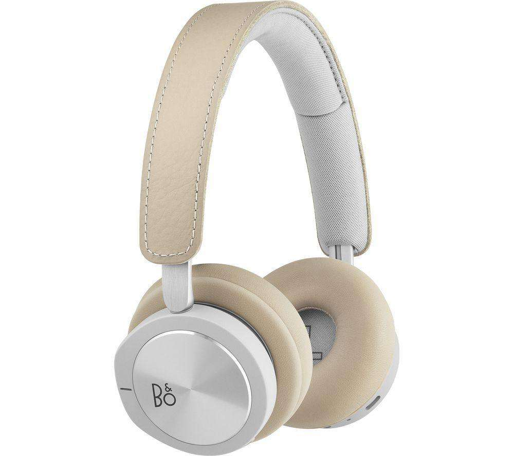 B&O H8i Wireless Bluetooth Noise-Cancelling Headphones - Natural - Lintronics Group LTD