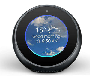 Introducing Amazon Echo Spot - Black - Lintronics Group LTD