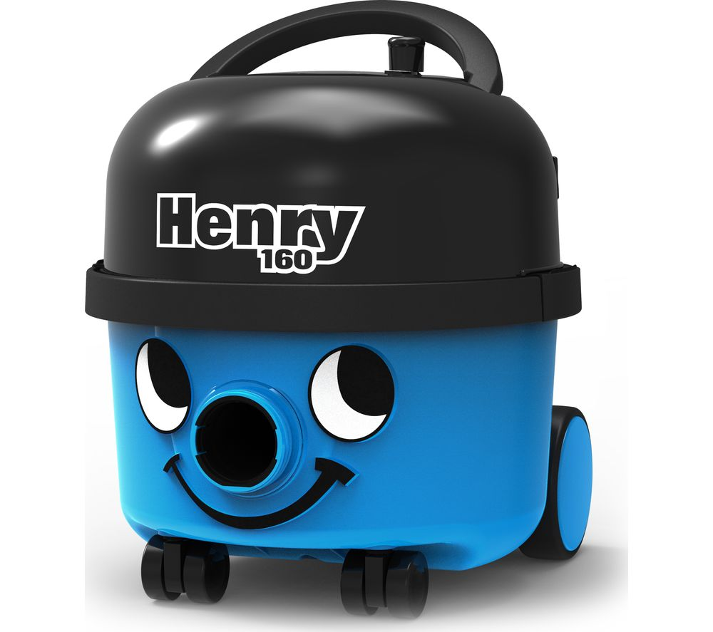 NUMATIC Henry HVR160 Cylinder Vacuum Cleaner - Blue - Lintronics Group LTD
