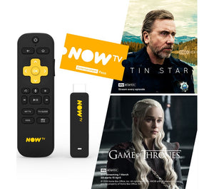 NOW TV Smart Stick with HD & Voice Search - 2 Month Entertainment Pass - Lintronics Group LTD