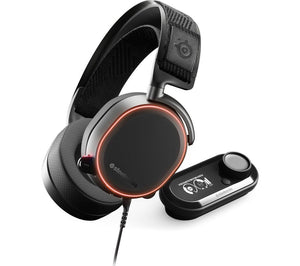 STEELSERIES Arctis Pro + GameDAC 7.1 Gaming Headset - Black - Lintronics Group LTD