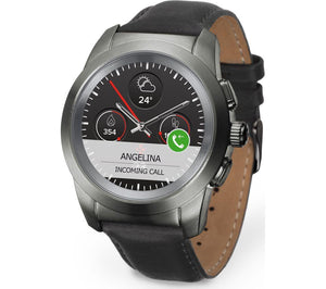 MYKRONOZ ZeTime Premium - Black & Tan, Petite - Lintronics Group LTD