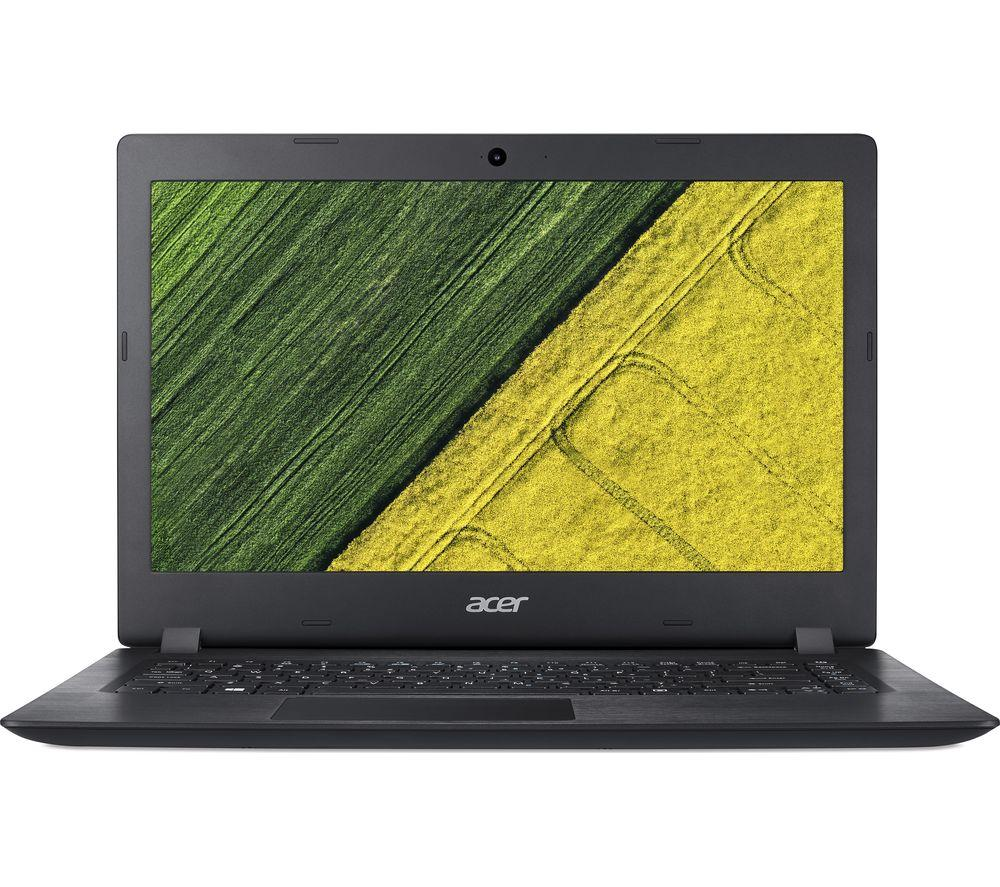 "ACER Aspire 1 A114-31 14"" Intel® Celeron® Laptop - Black - Lintronics Group LTD"