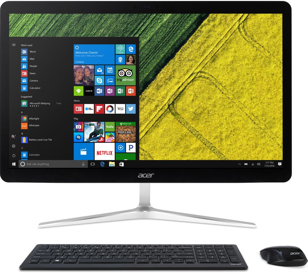 "ACER U27-885 27"" Intel® Core™ i5 All-in-One PC - 1 TB HDD, Silver - Lintronics Group LTD"