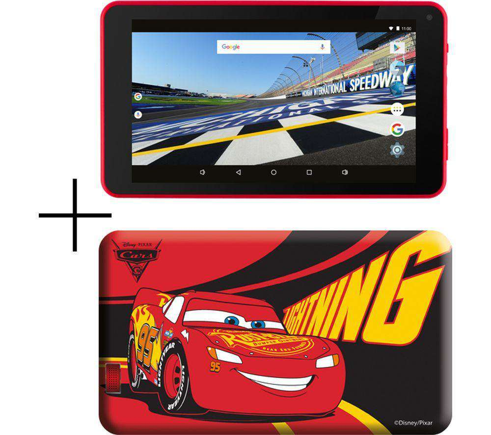 "ESTAR 7"" Tablet & Case - 8 GB, Cars - Lintronics Group LTD"
