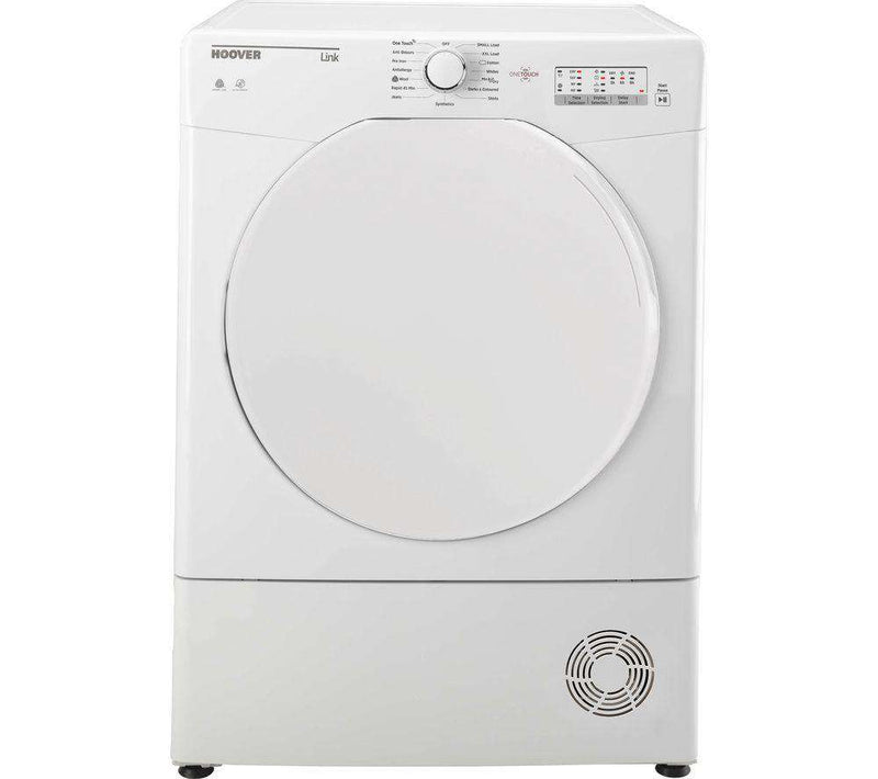 HOOVER Link HLC9LF Smart 9 kg Condenser Tumble Dryer - White - Lintronics Group LTD