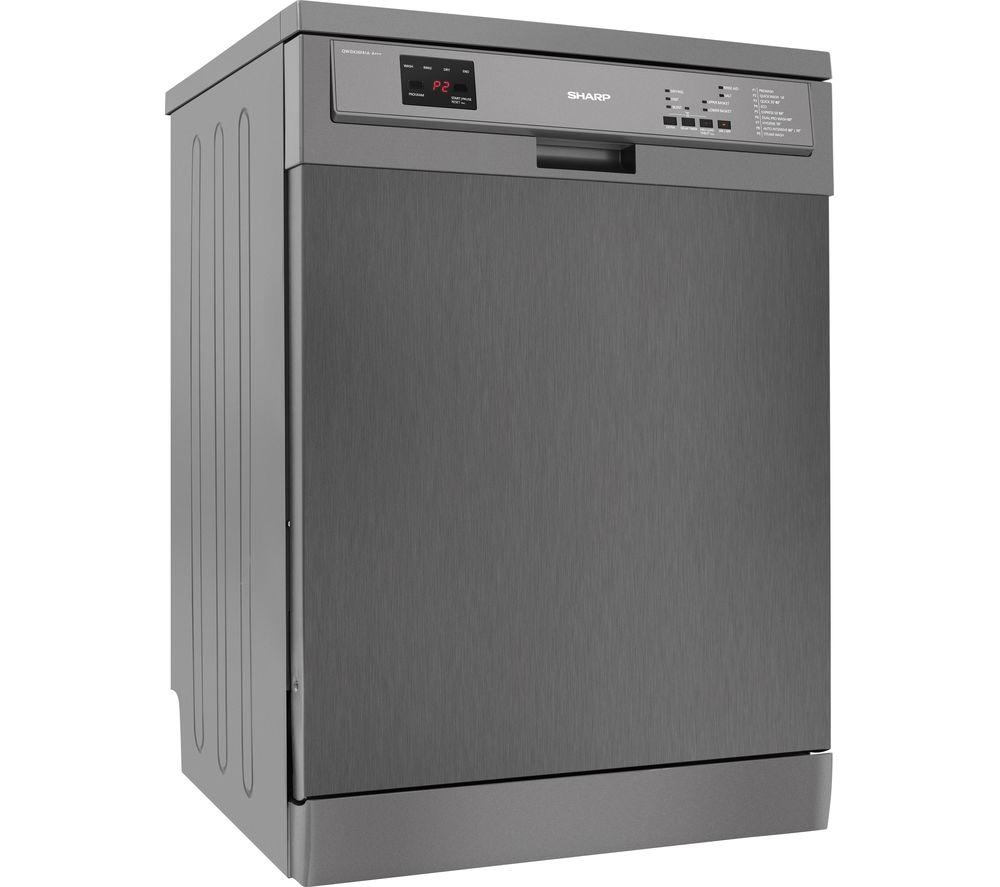 SHARP QW-DX26F41A Full-size Dishwasher - Stainless Steel - Lintronics Group LTD