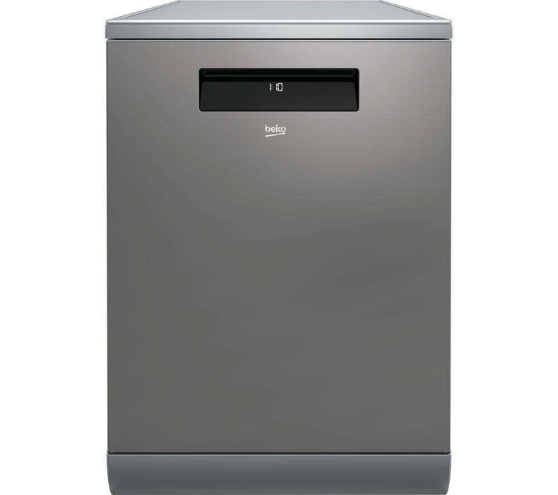 BEKO DEN59420DX Full-size Smart Dishwasher - Stainless Steel - Lintronics Group LTD