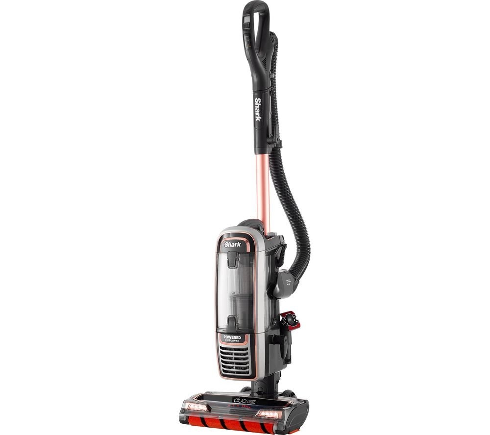 SHARK DuoClean Powered Lift-Away TruePet AX910UKT Upright Bagless Vacuum Cleaner - Rose Gold & Grey - Lintronics Group LTD