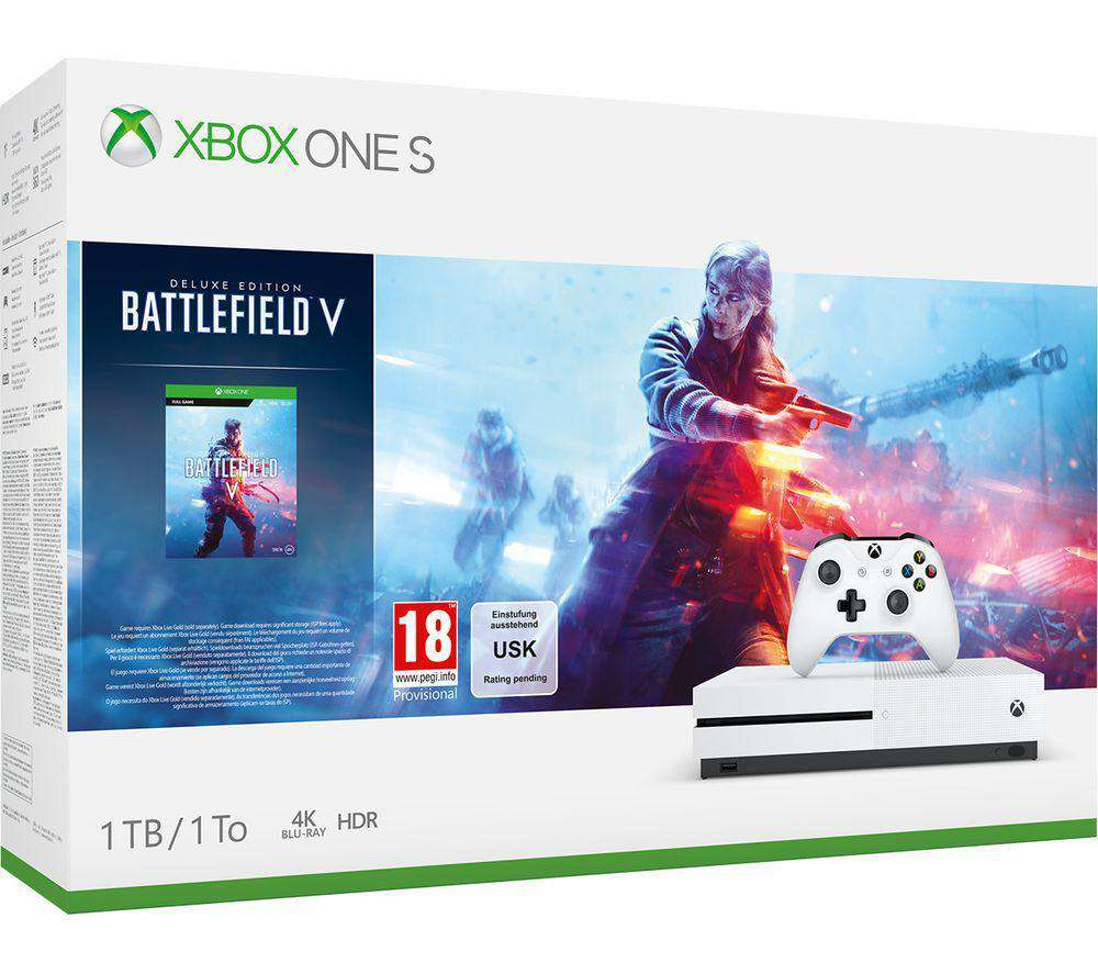 MICROSOFT Xbox One S with Battlefield V - Lintronics Group LTD