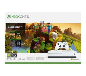 MICROSOFT Xbox One S with Minecraft Holiday Edition - Lintronics Group LTD
