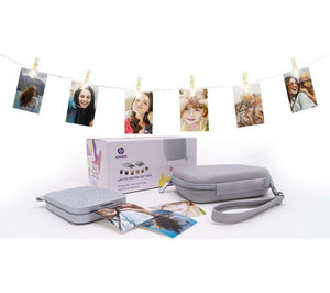 HP Sprocket 200 Mobile Photo Printer Gift Bundle - Pearl - Lintronics Group LTD