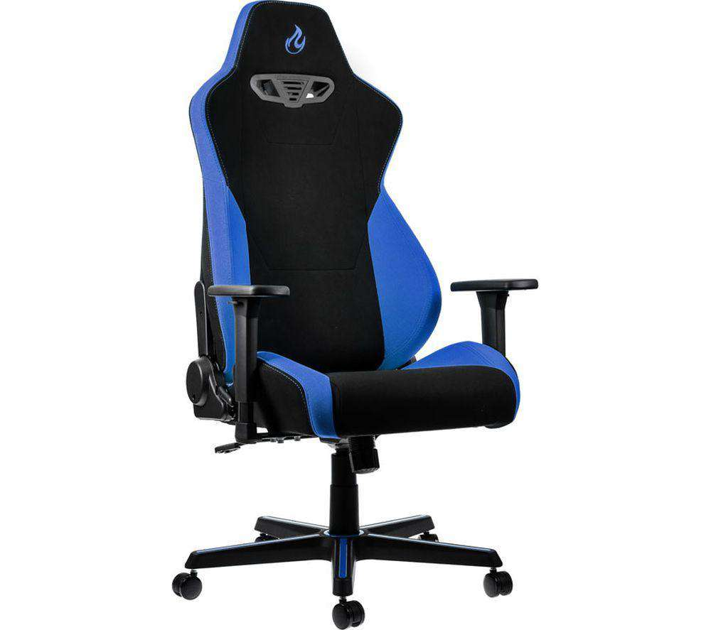 NITRO CONCEPTS S300 Gaming Chair - Blue - Lintronics Group LTD