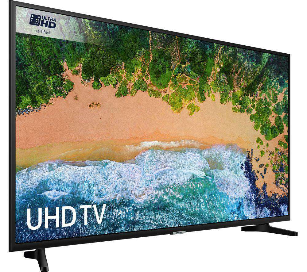 "SAMSUNG UE43NU7020 43"" Smart 4K Ultra HD HDR LED TV - Lintronics Group LTD"