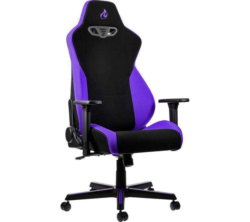 NITRO CONCEPTS S300 Gaming Chair - Purple - Lintronics Group LTD