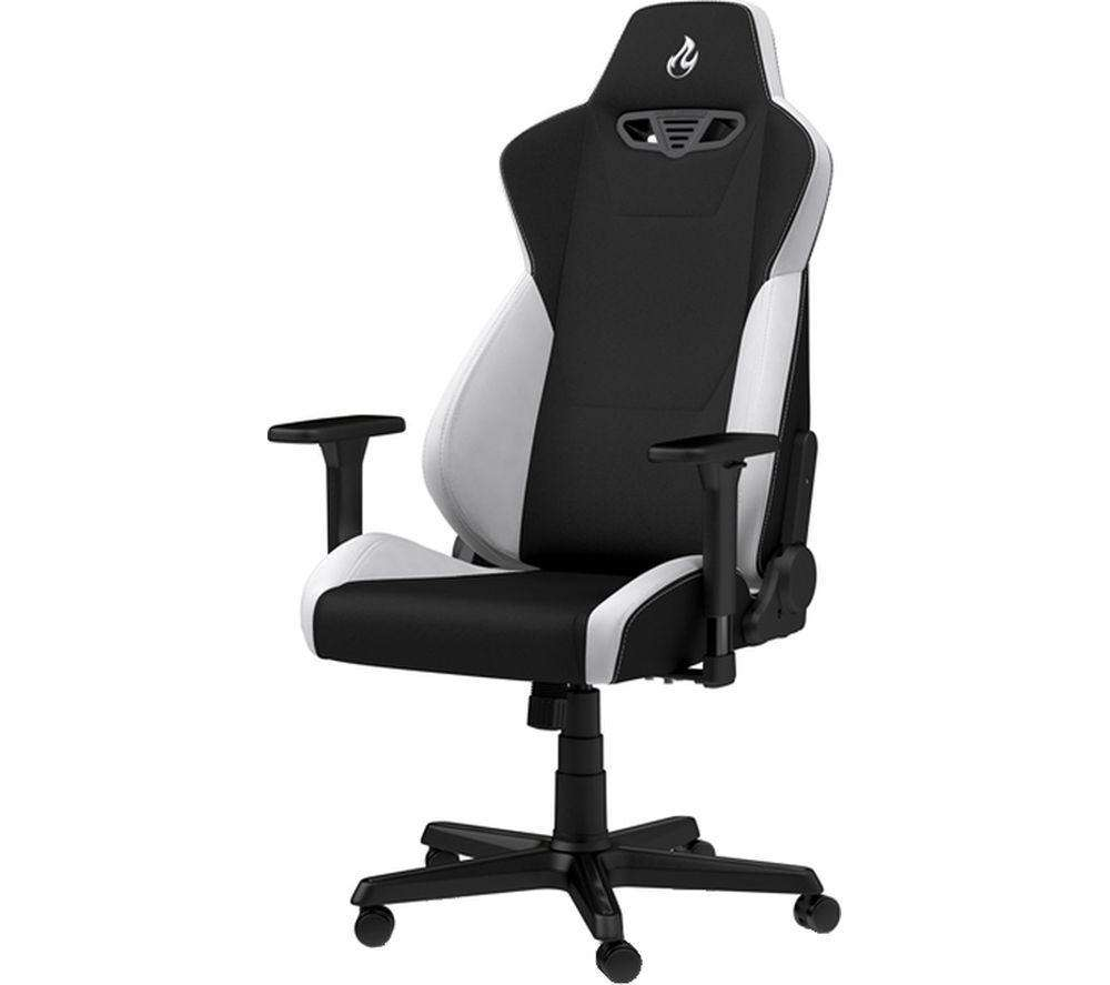 NITRO CONCEPTS S300 Gaming Chair - White - Lintronics Group LTD