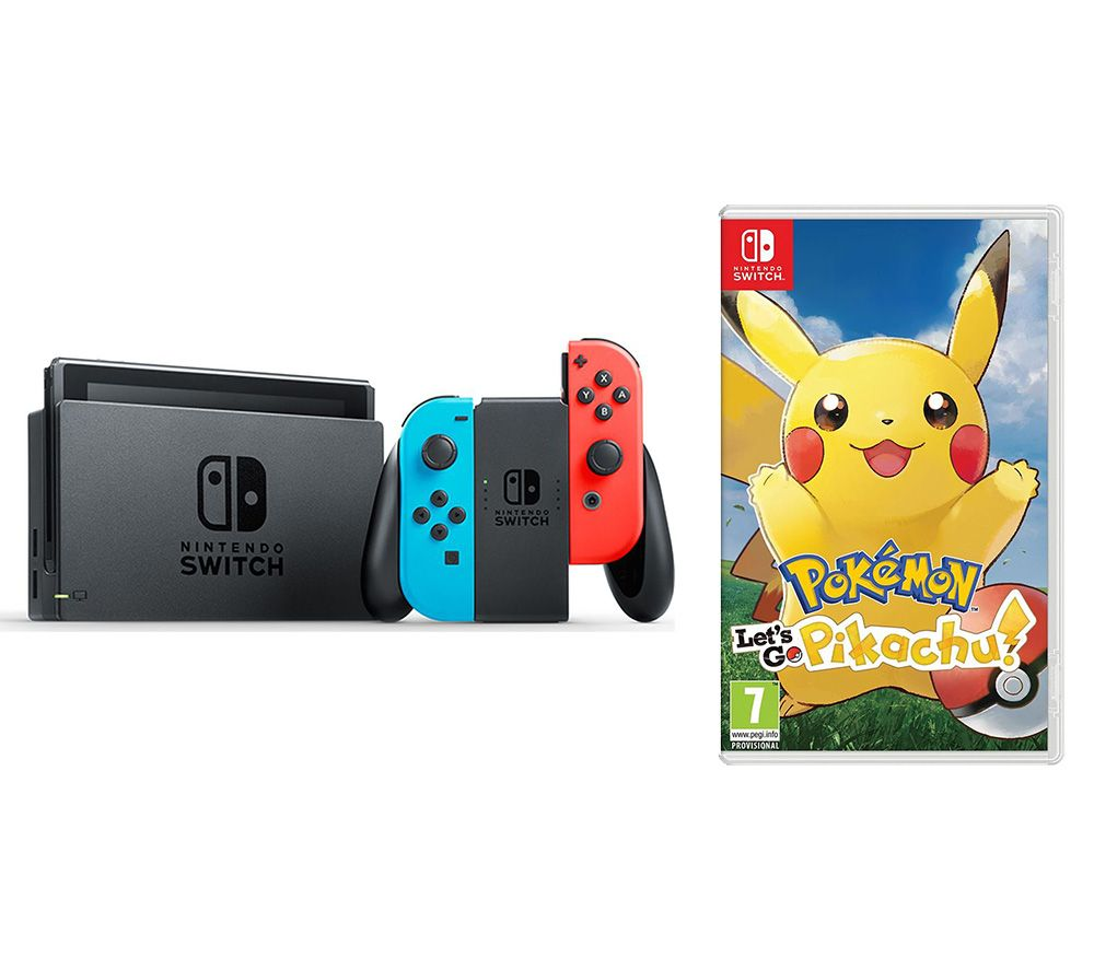 NINTENDO Switch with Let's Go, Pikachu! - Lintronics Group LTD