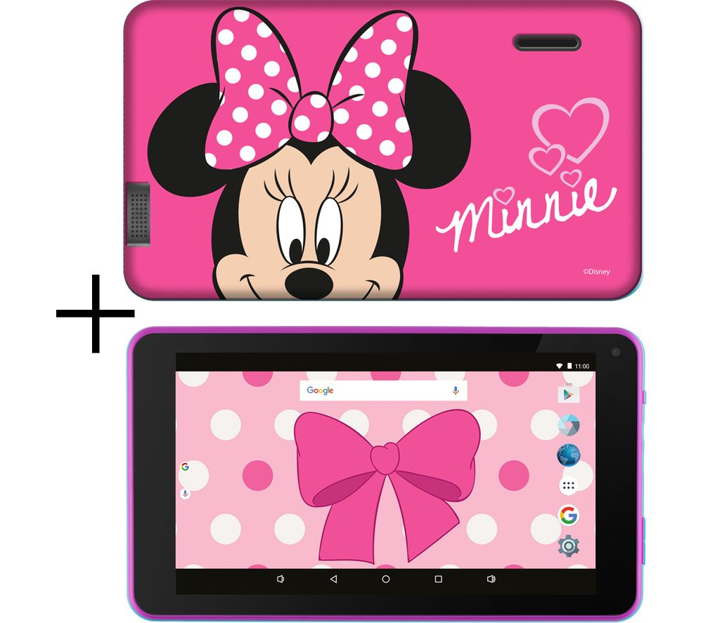 "ESTAR 7"" Tablet & Case - 8 GB, Minnie Mouse - Lintronics Group LTD"