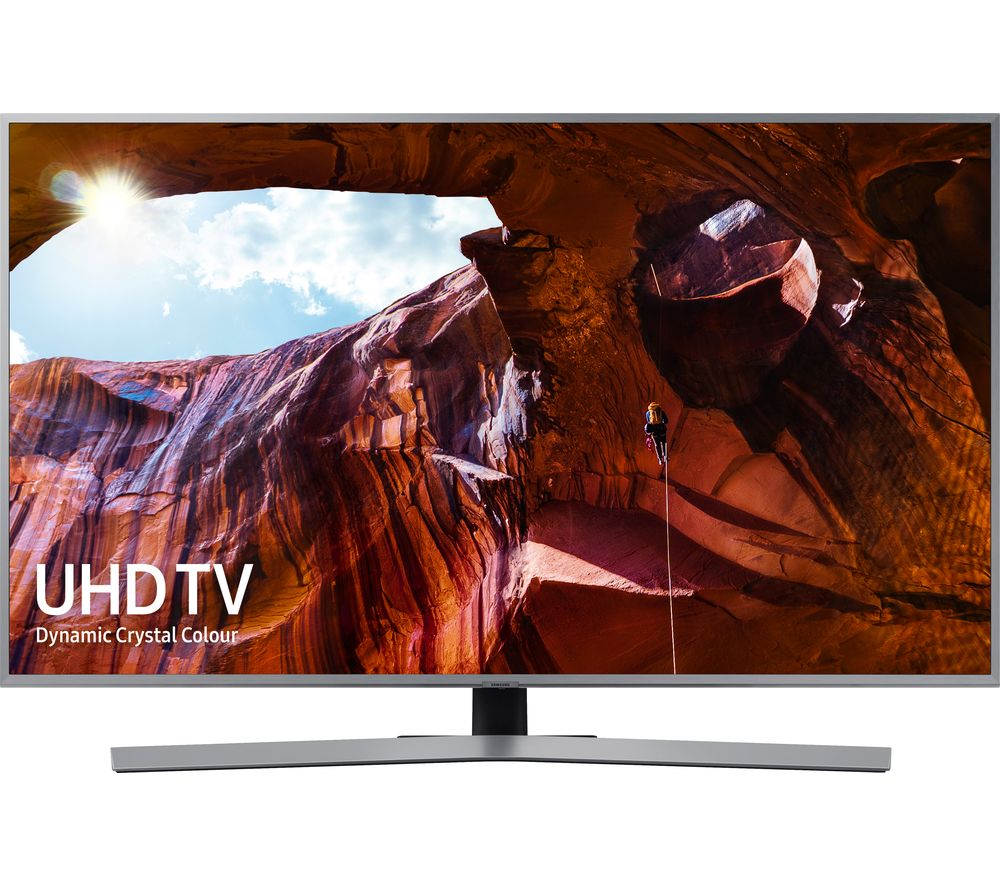 "2019 SAMSUNG UE43RU7470UXXU 43"" Smart 4K Ultra HD HDR LED TV with Bixby - Lintronics Group LTD"