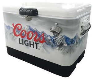 COORS LIGHT ICE CHEST 54 QT Cooler