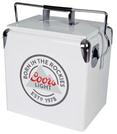 Coors Light CLVIC-13 18 Can Ice Chest with Bottle Opener by Koolatron (14 Quarts/13 Liters)