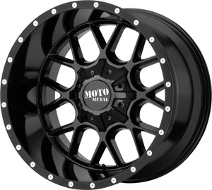 ARW Moto Metal 0986 Siege Gloss Black 20X9 5-5.5/5-150 +18MM / MO986290863A18