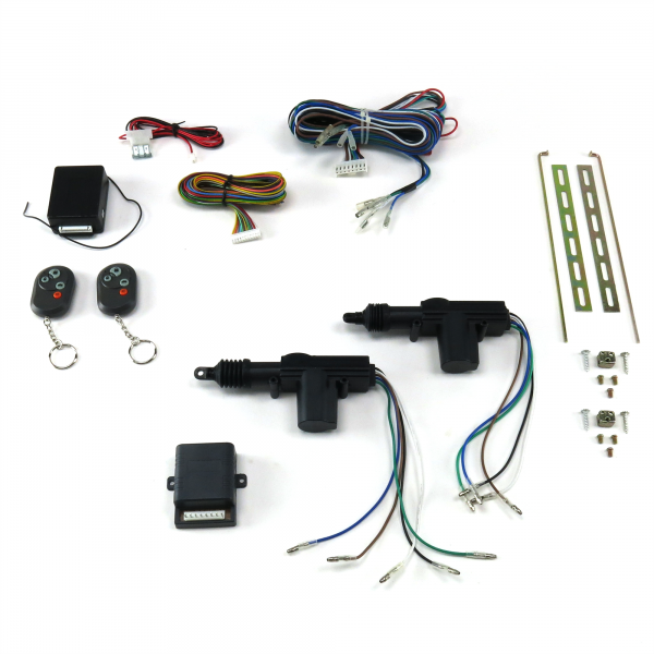 AutoLoc® 2 Door Remote Central Lock Kit with Remote Controls / CK2000