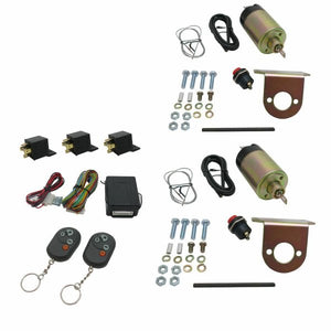 AutoLoc®  SVPRO3 8-Channel 35 lbs Remote Deluxe Shaved Door Kit / SVPRO3
