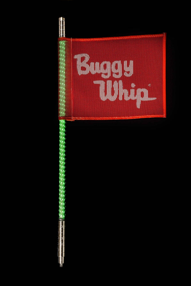 Buggy Whip® Green 4' Led Whip / BWLED4GQX