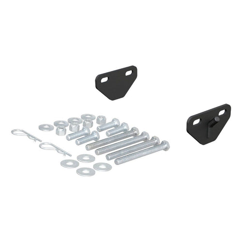 CURT™ Weight Distribution Bolt-On Hookup Brackets (2-Pack) / 17005