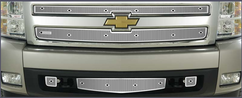 Cloud-Rider® Classic Stainless Steel Grille Insert – 2007-2008 Silverado 1500 / 24-123