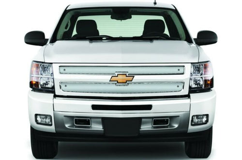 Cloud Rider Stainless Winter Grille Overlay - 2007-2013 Silverado 1500 / 25-120