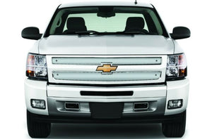 Cloud Rider Stainless Winter Grille Overlay - 1999-2002 Silverado 1500 / 25-140