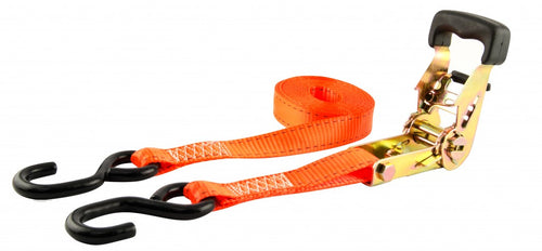 "Erickson 1"" x 15' Ratcheting Tie Downs (2000 Lbs.) 2-Pack / 34404"