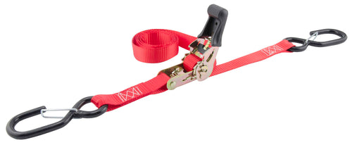 "Erickson 1"" x 6' Motorcycle Strap with Safety Snap Hooks (1200 Lbs.) / 05709"