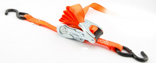 "Erickson 1"" x 8' Ratcheting Tie Down with Web Clamp (1500 Lbs.) 2-Pack / 31351"