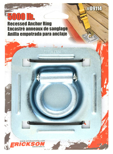 Erickson Recessed Anchor Ring (5000 Lbs.) / 09114