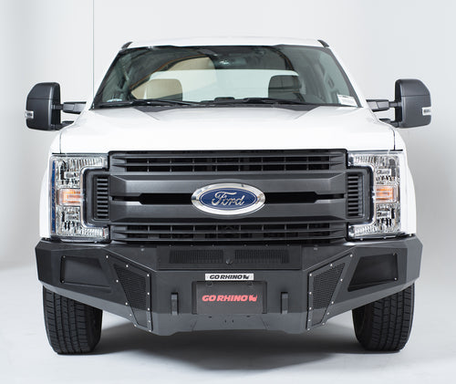 Go Rhino® BR10.5 Front Bumper for 2017-2019 Super Duty; Includes Winch Tray / 24373T