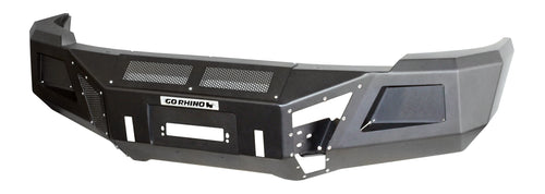 Go Rhino® BR10 Front Bumper for 2015-2019 Silverado HD; Requires GOR-24273TW Winch Tray for Installation / 24273T