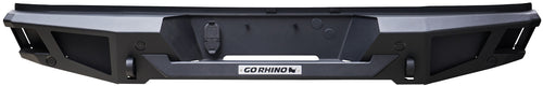 Go Rhino® BR20 Rear Bumper for 2015-2019 Silverado & Sierra HD / 28173T