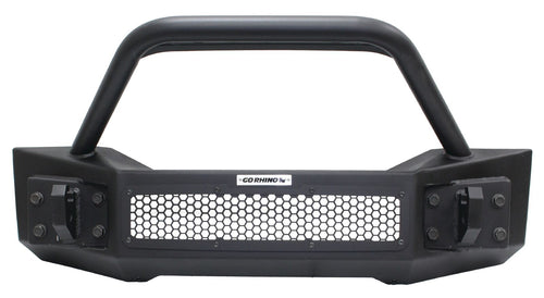 Go Rhino® Front Bumper with Tubular Override Bar for 2018 Wrangler / 331101T