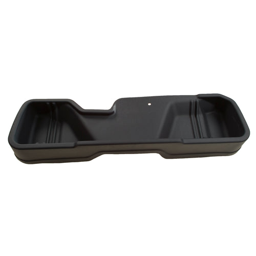 Husky Liners® Under Seat Storage Box - 2007-2013 Silverado/Sierra Extended Cab 1500, 2007-2014 HD, black color
