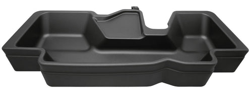 Husky Liners® Under Seat Storage Box - 2019 Dodge RAM 1500 Crew Cab Without Factory Storage Box, black color