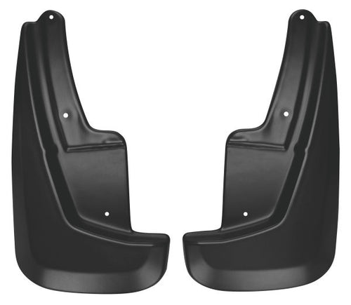 Husky Liners® Front Mud Guards - 2011-2020 Dodge Durango & 2018-2020 Dodge Durano Citadel, GT, Pursuit, Special Service, SXT, SXT Plus black color