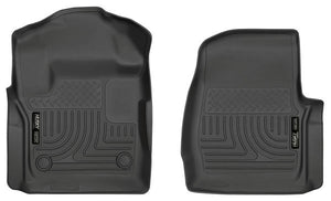 Husky Liners® WeatherBeater Front Floor Liners 17-20 Ford F-250 Super Duty & F-350 Super Duty Regular Cab / 13311